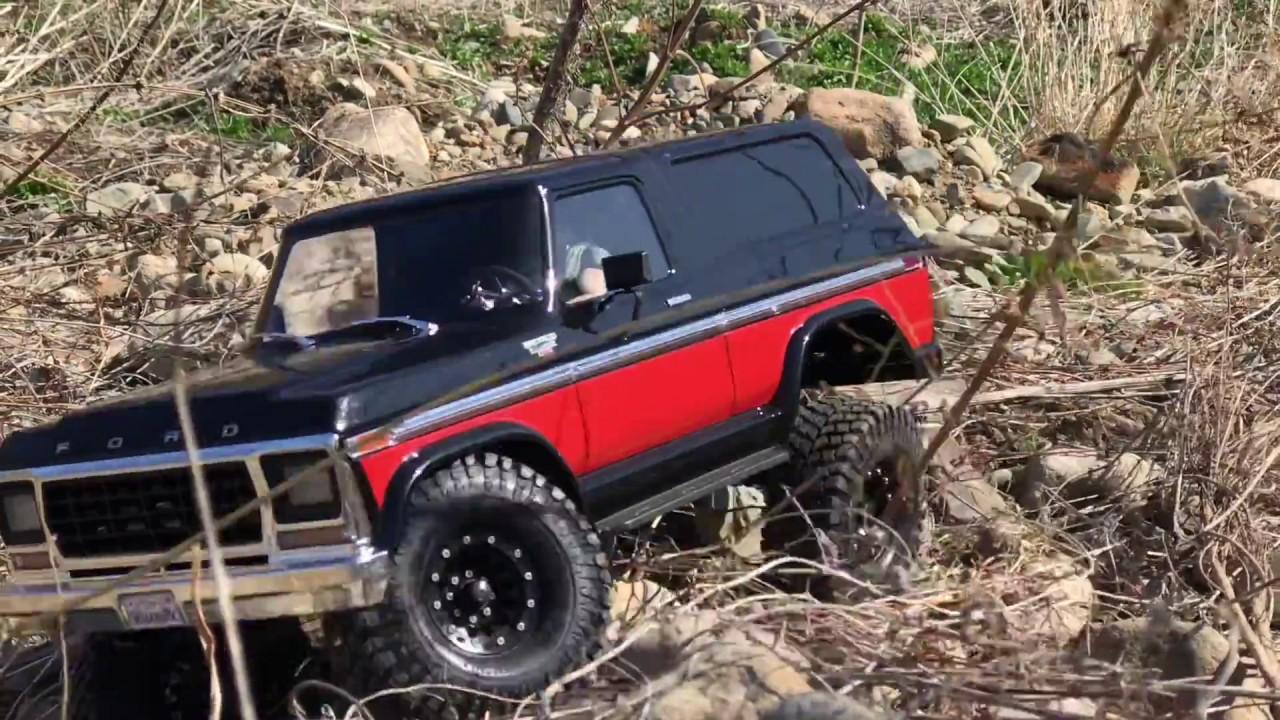 traxxas trx4 ford bronco ranger xlt l off road trails. Black Bedroom Furniture Sets. Home Design Ideas