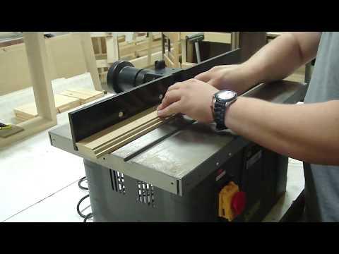 Обработка деревянной поверхности PROMA SF-40/1500 (фрезерный станок)