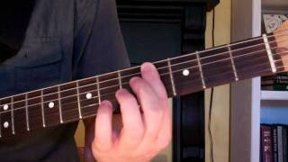 How To Play the C#sus4 Chord On Guitar (C sharp suspended 4th)