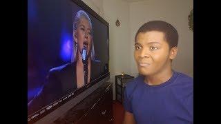 CHRISTINA AGUILERA - 2017 AMA'S Whitney Houston Tribute (REACTION) thumbnail