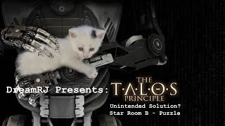 Talos Principle - Unintended Solution Star Room B