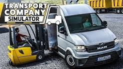 TRANSPORT COMPANY SIMULATOR: Der Logistik Simulator mit dem MAN TGE!