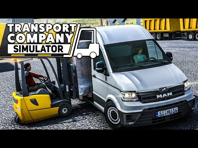 TRANSPORT COMPANY SIMULATOR: Der Logistik Simulator mit dem MAN TGE!