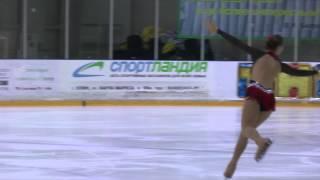 Соловьева Наталья Золото YA, Клинский лед 8.02.2014