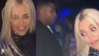 Tristan Thompson IGNORES Khloe Kardashian During New Years Party!