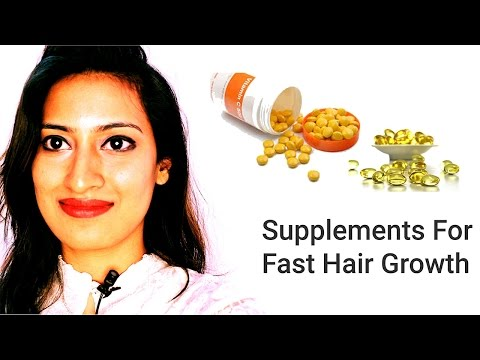 FAST HAIR GROWTH VITAMINS NEEDED