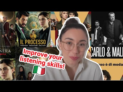 Serie tv italiane che potete guardare su Netflix e Prime per migliorare l'ascolto (subs)