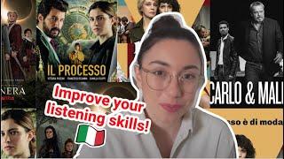 Serie tv italiane che ho guardato su Netflix e Prime (subs)