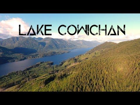 LAKE COWICHAN  - VANCOUVER ISLAND - DJI