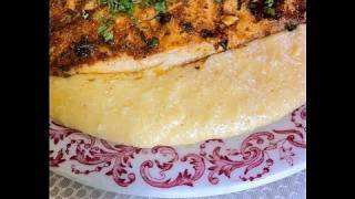 Cajun Fish & Savory Cheese Grits Recipe