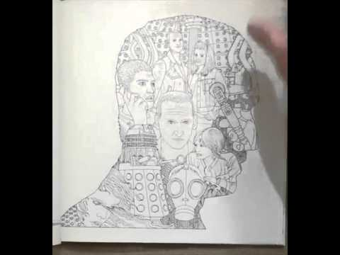 Doctor Who Coloring Book - YouTube