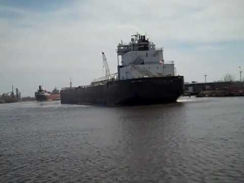 H Lee White departs Fraser Shipyard