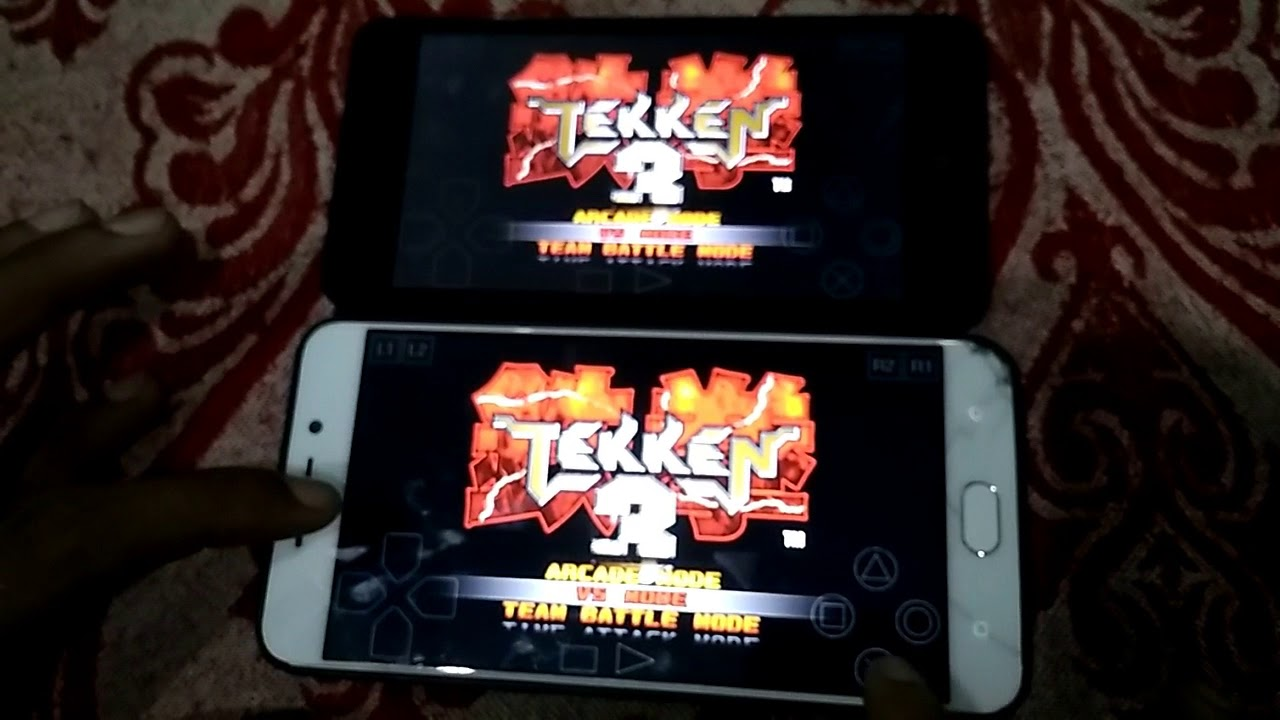 tekken 3 in multiplayer mode in epsxe(ps1 emulator ) on android device