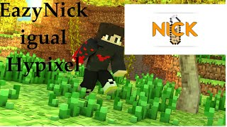 Minecraft: Plugins - EazyNick! Plugin de /nick - /fake igual Hypixel!