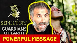 Sepultura - Guardians of Earth (Official Music Video) singer reaction to Brazilian metal