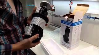 Выдвижной блок розеток для кухни(Выдвижной блок розеток для кухни устанавливаются в один уровень со столешницей, не нарушая единого рабоче..., 2016-03-23T10:44:07.000Z)