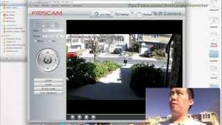 Foscam FI9821W Wireless IP Camera Review with Day & Night Video Stream Test