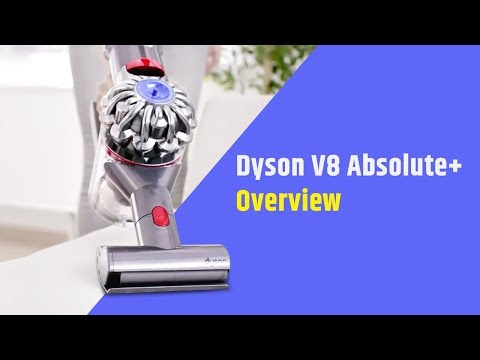 Dyson V8 Absolute Plus Cordless Vacuum Cleaner Overview | Digit.in