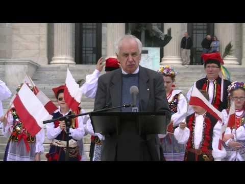 Polish Constitution Day Cleveland -- Gene Bak