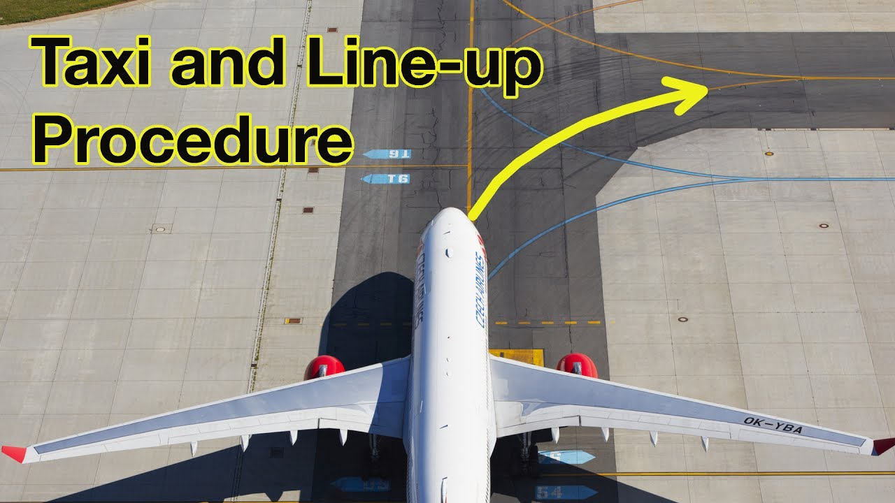 Taxi and Line Up! Explained by Captain Joe