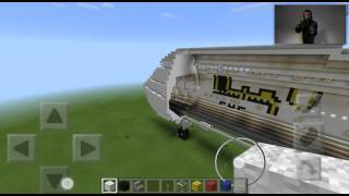 Quick look to the 747-400 and 737 in minecraft