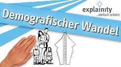 Demografischer Wandel einfach erklärt (explainity® Erklärvideo)