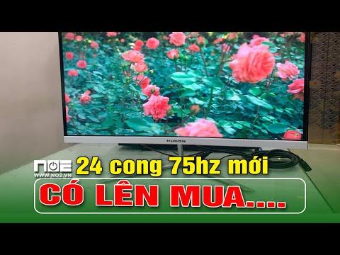 Màn 24 in Cong Mới  75hz giá hơn 1 triệu Hugon Có nên mua 1