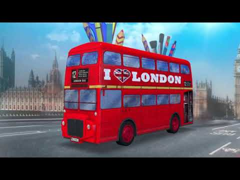 Ravensburger 3D pusle London Bus