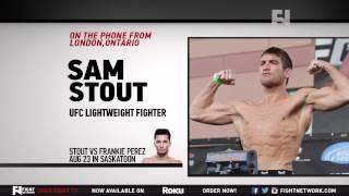 """Ufc Saskatoon: Sam Stout - """"i'm Training Smarter"""""""