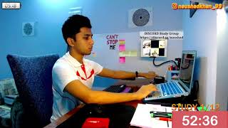 study with me live pomodoro | 16 hours *60/10* | discord studyroom | motivation to study | all exams