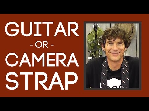 Guitar or Camera Strap: Easy Sewing Tutorial with Rob Appell of Man Sewing