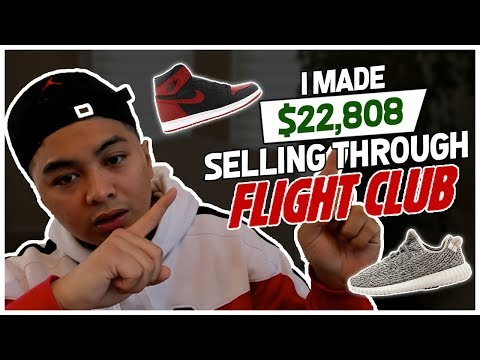 I MADE $22,808 SELLING SHOES THROUGH FLIGHTCLUB