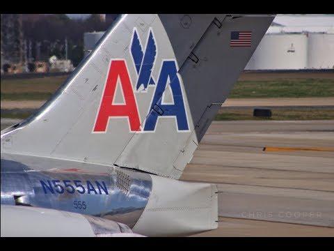 American Airlines MD-82 Dallas To Atlanta Trip Report [Full Flight]