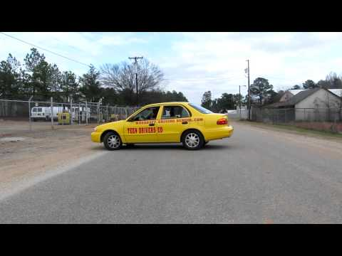 How to do a Three Point Turn - Woodruff Driving School