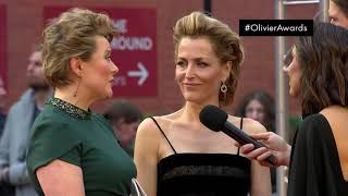 All About Eve on Red Carpet Live - Olivier Awards 2019 with Mastercard