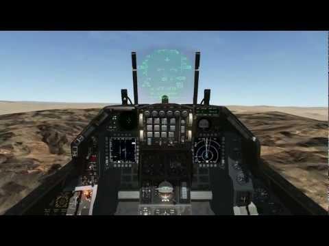 Falcon BMS: 14 ship Cario-Almaza Airbase OCA strike