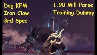 Blade and Soul - Doggo KFM/Iron Claw/3rd Spec 1.9 mill Training Dummy Parse