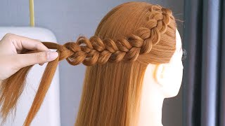 5 Open Hairstyles For Long Hair Cute Ponytail Hairstyles Hair Style Girl Juda Easy Hairstyles