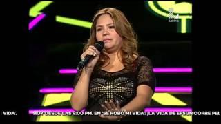 Ella cantó 4 segundos y Ricardo Morán calificó su imitación como 'perfecta'