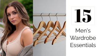 15 Men's Wardrobe Essentials | Courtney Ryan