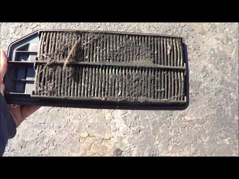 Air Cleaner Abuse, very dirty air cleaner