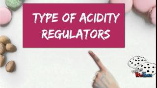 acidity regulators 2