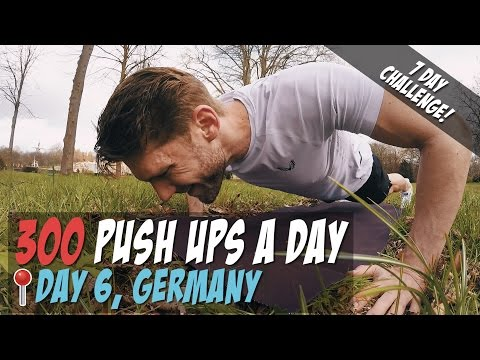 [Day6] 300 Push Ups a Day for 7 Days -...