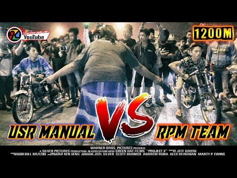 USR MANUAL TECH VS RPM TEAM | LAGA NAFAS PANJANG