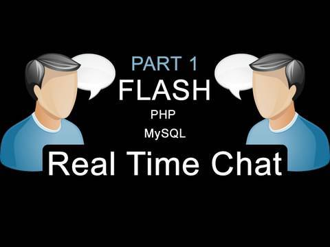Part 1: Flash AS3 Real Time Auto Updating Chat Application Tutorial For Websites