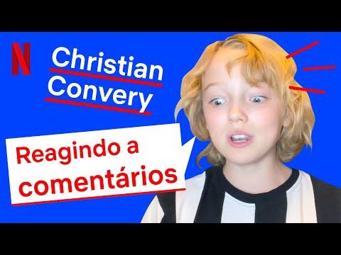 😍 Christian Convenry reagiu aos comentários dos fãs de Sweet Tooth   Netflix Brasil