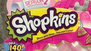 Shopkins Season 2 - Review - Mystery Bags ~ Sour Lemon Brenda Blender Poppy Corn Yummy Gum