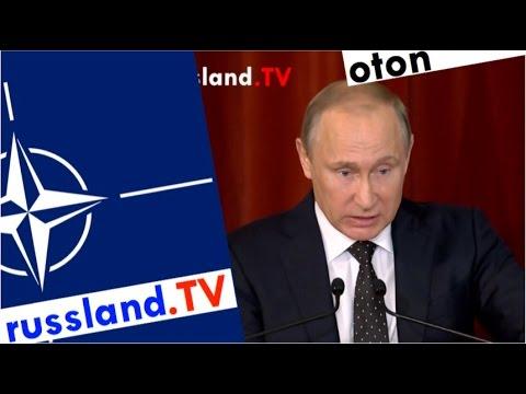 Putins scharfe NATO-Kritik auf deutsch