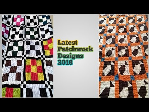 New Patchwork Designs 2018 || Latest Rilhee Designs By (FSB)
