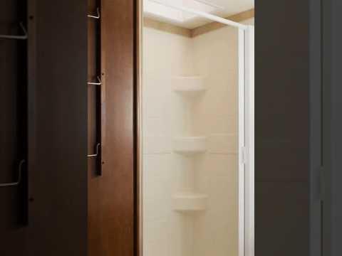 Nautilus Retractable Shower Door Youtube
